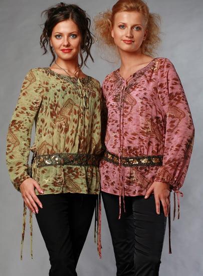Выкройка - платье-туника